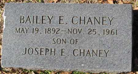 CHANEY, BAILEY E - East Feliciana County, Louisiana   BAILEY E CHANEY - Louisiana Gravestone Photos