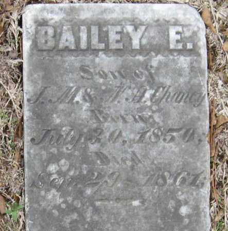 CHANEY, BAILEY E - East Feliciana County, Louisiana | BAILEY E CHANEY - Louisiana Gravestone Photos