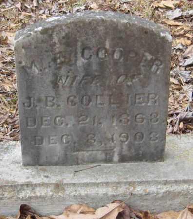 COOPER COLLIER, M E - East Feliciana County, Louisiana | M E COOPER COLLIER - Louisiana Gravestone Photos