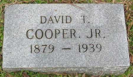 COOPER, DAVID T, JR - East Feliciana County, Louisiana   DAVID T, JR COOPER - Louisiana Gravestone Photos