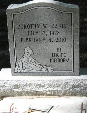 DANIEL, DOROTHY W - East Feliciana County, Louisiana | DOROTHY W DANIEL - Louisiana Gravestone Photos
