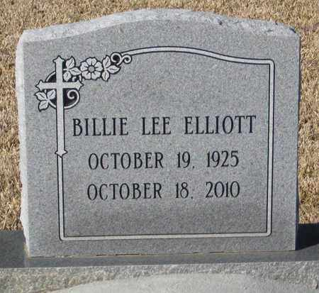 LEE ELLIOTT, BILLIE - East Feliciana County, Louisiana | BILLIE LEE ELLIOTT - Louisiana Gravestone Photos