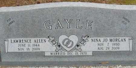 GAYLE, NINA JO - East Feliciana County, Louisiana | NINA JO GAYLE - Louisiana Gravestone Photos