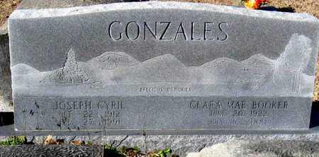 GONZALES, JOSEPH CYRIL - East Feliciana County, Louisiana | JOSEPH CYRIL GONZALES - Louisiana Gravestone Photos