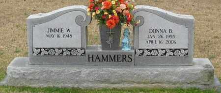 HAMMERS, DONNA B - East Feliciana County, Louisiana | DONNA B HAMMERS - Louisiana Gravestone Photos