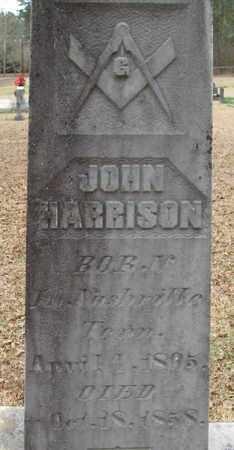HARRISON, JOHN (CLOSEUP) - East Feliciana County, Louisiana   JOHN (CLOSEUP) HARRISON - Louisiana Gravestone Photos