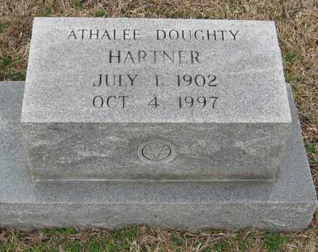 DOUGHTY HARTNER, ESSIE ATHALEE - East Feliciana County, Louisiana   ESSIE ATHALEE DOUGHTY HARTNER - Louisiana Gravestone Photos