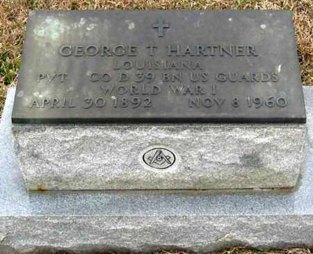 "HARTNER, GEROGE THOMAS ""G T"" (VETERAN WWI) - East Feliciana County, Louisiana | GEROGE THOMAS ""G T"" (VETERAN WWI) HARTNER - Louisiana Gravestone Photos"