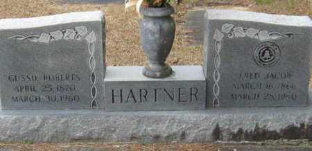 HARTNER, FRED JACOB - East Feliciana County, Louisiana | FRED JACOB HARTNER - Louisiana Gravestone Photos