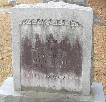 HATCHER, ARTHUR GUY - East Feliciana County, Louisiana | ARTHUR GUY HATCHER - Louisiana Gravestone Photos
