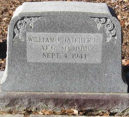 HATCHER, WILLIAM JAMES, JR - East Feliciana County, Louisiana   WILLIAM JAMES, JR HATCHER - Louisiana Gravestone Photos