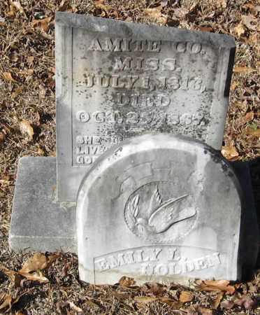 HOLDEN, EMILY L - East Feliciana County, Louisiana | EMILY L HOLDEN - Louisiana Gravestone Photos