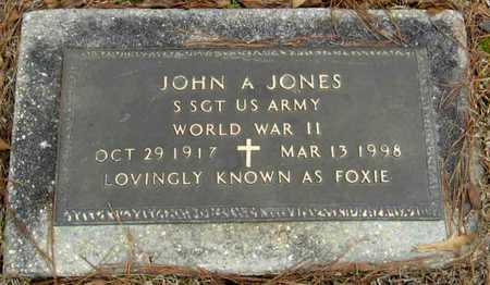 JONES, JOHN A (VETERAN WWII) - East Feliciana County, Louisiana | JOHN A (VETERAN WWII) JONES - Louisiana Gravestone Photos