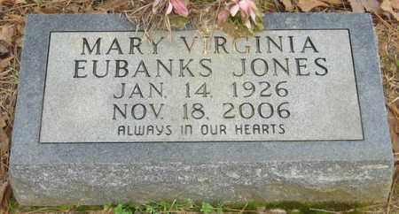 EUBANKS JONES, MARY VIRGINIA - East Feliciana County, Louisiana   MARY VIRGINIA EUBANKS JONES - Louisiana Gravestone Photos