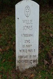 JONES, WILLIE  (VETERAN WWII) - East Feliciana County, Louisiana | WILLIE  (VETERAN WWII) JONES - Louisiana Gravestone Photos