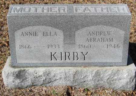 KIRBY, ANDREW ABRAHAM - East Feliciana County, Louisiana | ANDREW ABRAHAM KIRBY - Louisiana Gravestone Photos