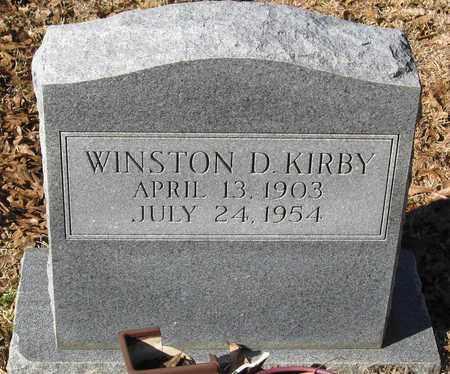KIRBY, WINSTON D - East Feliciana County, Louisiana | WINSTON D KIRBY - Louisiana Gravestone Photos