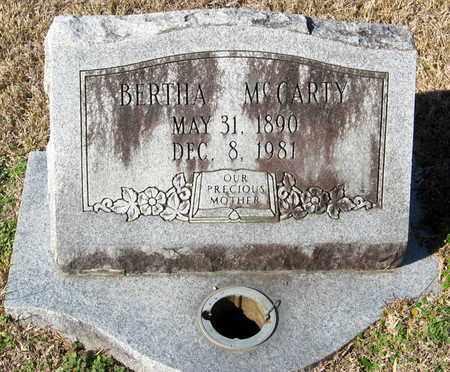 MCCARTY, BERTHA - East Feliciana County, Louisiana   BERTHA MCCARTY - Louisiana Gravestone Photos