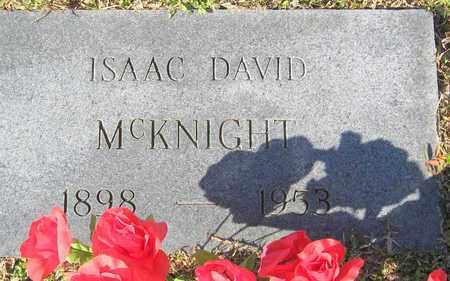 MCKNIGHT, ISAAC DAVID - East Feliciana County, Louisiana | ISAAC DAVID MCKNIGHT - Louisiana Gravestone Photos
