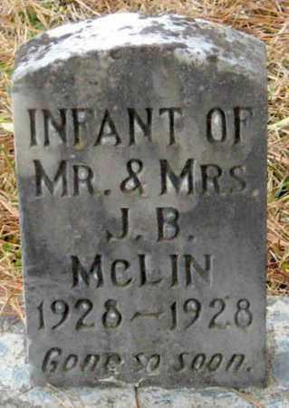 MCLIN, INFANT - East Feliciana County, Louisiana   INFANT MCLIN - Louisiana Gravestone Photos