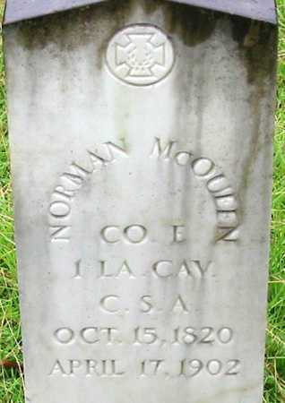 MCQUEEN, NORMAN  (VETERAN CSA) - East Feliciana County, Louisiana | NORMAN  (VETERAN CSA) MCQUEEN - Louisiana Gravestone Photos