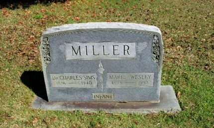 MILLER, CHARLES SIMS, DR - East Feliciana County, Louisiana | CHARLES SIMS, DR MILLER - Louisiana Gravestone Photos