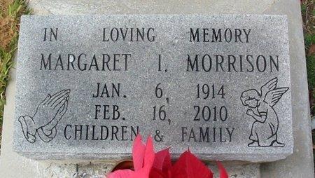 MORRISON, MARAGARET I - East Feliciana County, Louisiana | MARAGARET I MORRISON - Louisiana Gravestone Photos