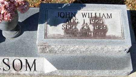 NESOM, JOHN WILLIAM (CLOSEUP) - East Feliciana County, Louisiana   JOHN WILLIAM (CLOSEUP) NESOM - Louisiana Gravestone Photos