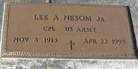 NESOM, LEE A, JR (VETERAN) - East Feliciana County, Louisiana | LEE A, JR (VETERAN) NESOM - Louisiana Gravestone Photos