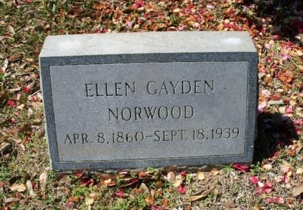 NORWOOD, ELLEN - East Feliciana County, Louisiana | ELLEN NORWOOD - Louisiana Gravestone Photos
