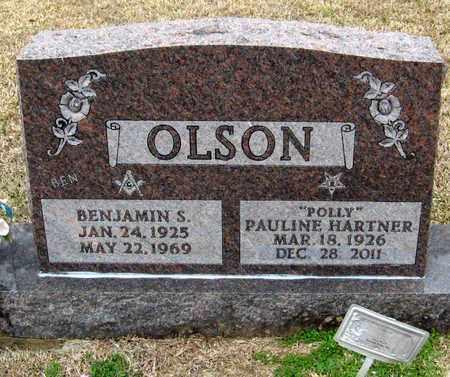 "HARTNER OLSON, PAULINE ""POLLY"" - East Feliciana County, Louisiana | PAULINE ""POLLY"" HARTNER OLSON - Louisiana Gravestone Photos"