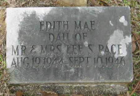 PACE, EDITH MAE - East Feliciana County, Louisiana   EDITH MAE PACE - Louisiana Gravestone Photos