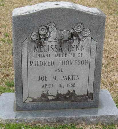 PARTIN, MELISSA LYNN - East Feliciana County, Louisiana | MELISSA LYNN PARTIN - Louisiana Gravestone Photos