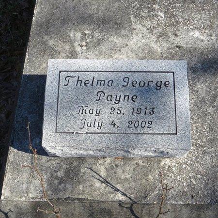 GEORGE PAYNE, THELMA - East Feliciana County, Louisiana | THELMA GEORGE PAYNE - Louisiana Gravestone Photos