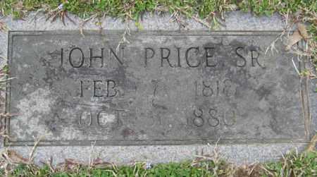 PRICE, JOHN, SR - East Feliciana County, Louisiana   JOHN, SR PRICE - Louisiana Gravestone Photos