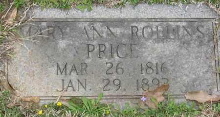PRICE, MARY ANN - East Feliciana County, Louisiana   MARY ANN PRICE - Louisiana Gravestone Photos