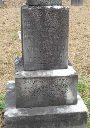 "CHANEY, SARAH ""SALLIE"" (CLOSEUP) - East Feliciana County, Louisiana | SARAH ""SALLIE"" (CLOSEUP) CHANEY - Louisiana Gravestone Photos"