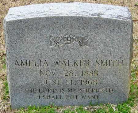 WALKER SMITH, AMELIA - East Feliciana County, Louisiana   AMELIA WALKER SMITH - Louisiana Gravestone Photos