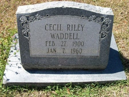 WADDELL, CECIL RILEY - East Feliciana County, Louisiana   CECIL RILEY WADDELL - Louisiana Gravestone Photos