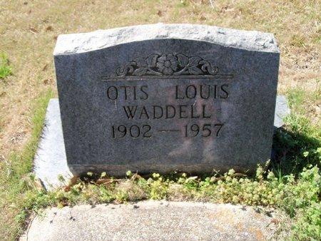 WADDELL, OTIS LOUIS - East Feliciana County, Louisiana   OTIS LOUIS WADDELL - Louisiana Gravestone Photos