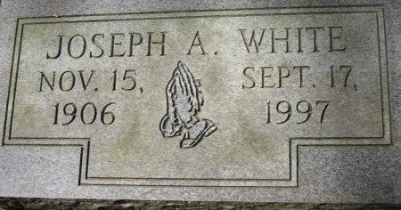 WHITE, JOSEPH A - East Feliciana County, Louisiana | JOSEPH A WHITE - Louisiana Gravestone Photos