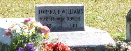 FISHER WILLIAMS, LORENA - East Feliciana County, Louisiana | LORENA FISHER WILLIAMS - Louisiana Gravestone Photos