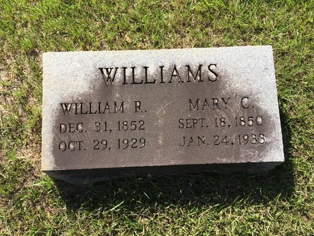 WILLIAMS, WILLIAM R - East Feliciana County, Louisiana | WILLIAM R WILLIAMS - Louisiana Gravestone Photos