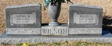 WILSON, WILLIE A - East Feliciana County, Louisiana   WILLIE A WILSON - Louisiana Gravestone Photos