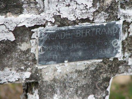 BERTRAND, ARCADE - Evangeline County, Louisiana   ARCADE BERTRAND - Louisiana Gravestone Photos