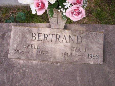BERTRAND, EVA - Evangeline County, Louisiana | EVA BERTRAND - Louisiana Gravestone Photos