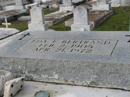 BERTRAND, EDA - Evangeline County, Louisiana | EDA BERTRAND - Louisiana Gravestone Photos