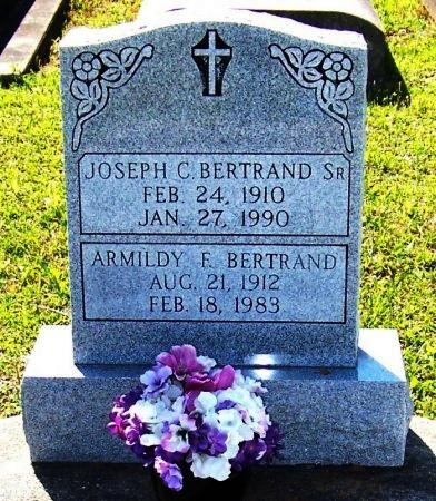 BERTRAND, ARMILDY F - Evangeline County, Louisiana | ARMILDY F BERTRAND - Louisiana Gravestone Photos