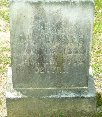 "DUPLISSEY, CHRISTOPHER COLUMBUS  ""BUD"" - Evangeline County, Louisiana   CHRISTOPHER COLUMBUS  ""BUD"" DUPLISSEY - Louisiana Gravestone Photos"