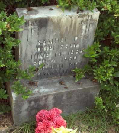 DUPLISSEY, SAMUEL DAVID - Evangeline County, Louisiana | SAMUEL DAVID DUPLISSEY - Louisiana Gravestone Photos